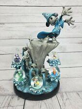 Disney Fantasia Sorcerer Mickey 7 Snowglobes, FIGURINE RETIRED