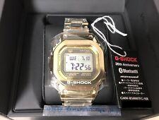 2018 Casio G-shock 35th Anniversary Limited Gmw-b5000tfg-9jr Gold Full Metal