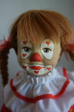 """14"""" CLOTH KARIN HELLER ARTIST DOLL MADE IN WEST GERMANY!"""