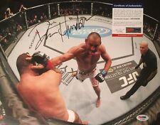 Dan Henderson SIGNED UFC 11x14 Photo w/ PSA COA