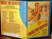 ROSIE THE RIVETER 1944 - DVD - Jane Frazee Frank Albertson Vera Vague