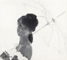 1966 FEMALE FASHION GLAMOUR Portrait Parasol Woman 16x20 Photo Art WINGATE PAINE