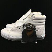 Vans Vault SK8-Hi LX VLT White Leather Men Women Skate Boarding VN000KXI1NT