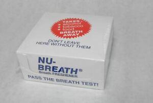 NuBreath Nu Breath Newbreath Herbal Mints
