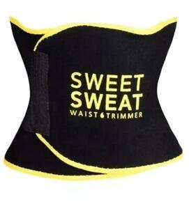 Sweet Sweat Waist Trimmer Yellow S,M,L Weight Loss Fat Burner Yoga Men & Women