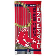 New Licensed Boston Red Sox 2018 World Series Champions Beach Towel 30 X 60 cl