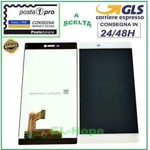 LCD DISPLAY HUAWEI P8 GRA-L09 TOUCH SCREEN VETRO MONITOR BIANCO