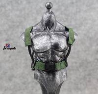 "1/6 Scale Hot Strap Vest Belt for 12"" Action figure Toys Green"