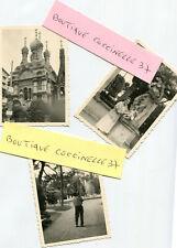 LOT de 3 PHotos prises en Italie à SAN REMO en Juin 1958