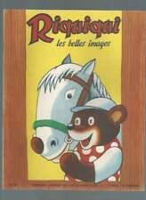 RIQUIQUI LES BELLES IMAGES N°50 . 1955 . EDITIONS VAILLANT . PIF .
