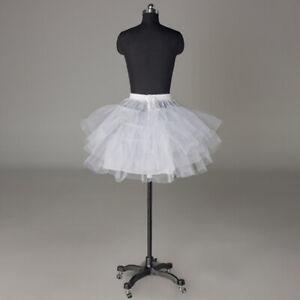 RULTA UK Women Short Petticoat Underskirt Bridal Wedding Dress Skirt Apparel K1