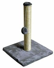 Kingfisher Cat Scratch Play Post Kitten Scratching Pole Stand With Toy Ball NEW