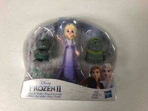 Frozen 2 Elsa and Troll Figures---Newly Released, Fast Shipping