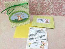 Personalised Easter Bunny Letter, Gift Bag, Easter Gift, Easter Hunt