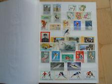 Korea Sammlung Gestempelt im neuen 16-seitigen Steckbuch TOP