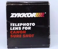 Zykkor Telephoto AUX Lens For Canon Sure Shot 2X 48mm threads