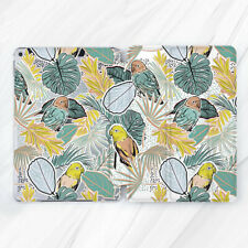 Tropic Parrot Bird Leaf Floral Case For iPad Pro 9.7 10.5 11 12.9 Air Mini 2 3 5