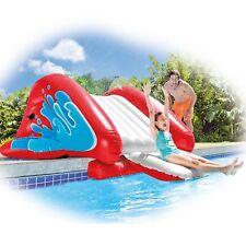 Intex Kool Splash Inflatable Pool Water Slide Play Center with Sprayer Red