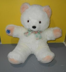 "Large 24"" Applause Ambrosia Teddy Bear Soft Stuffed Plush Animal w/ Bow Tie"
