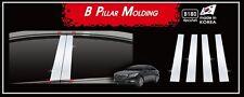 Chrome PVC B-Pillar Garnish Molding 4P B180 for Hyundai Hyundai Sonata 2014~2018