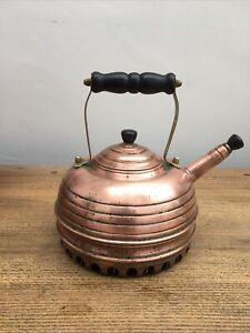 Simplex 'Beehive Balmoral' Copper Kettle