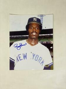 Ray Burris Signed 8X10 Photo New York Yankees Autograph Auto COA CAS