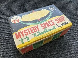 MARX 1960's MYSTERY SPACE SHIP TOY IN ORIGINAL BOX COMPLETE