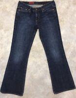 AG Adriano Goldschmied Women's Blue Medium Wash Club Boot Cut Jeans Sz 27 R