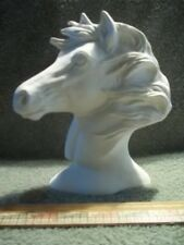 Beautiful Horse Head Bust Ceramic Bisque U-Paint Ready To Paint Horses  Equine