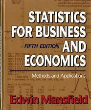 Statistics for Business and Economics: Methods and Applications