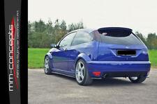 CUP Diffusor Seiten Ansätze CARBON für Ford Focus RS MK1 Bj. 02-03 Heck Ansatz
