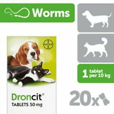 Droncit Tablets For Cats & Dogs - 20 PACK  [81502307]