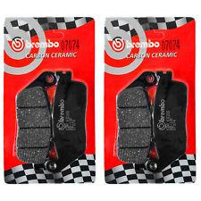 2 Coppie Pastiglie Freno Brembo Anteriori per TRIUMPH STREET TRIPLE 675 07>12