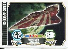 Star Wars Force Attax Series 3 Card #64 Jedi Starfighter