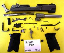 RUGER P 89 9MM CAL GUN PARTS LOT ALL PICTURED 4 ONE PRICE #16-670