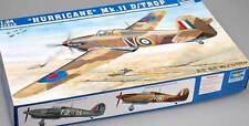Trumpeter Hawker Hurricane Mk.IID/Trop 164.&6.Sqn. 1:24 Modell-Bausatz kit