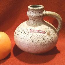 Fat lava jarrón Ceramano 70er años con logotipo original recibido perfecto