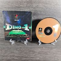 PAL PlayStation 1 UK PROMO GAME DEMO 1 ONE ~ SCES-00048 ~ VGC,