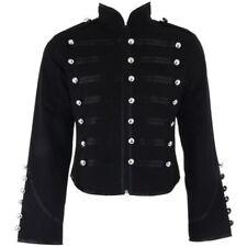 Manteaux et vestes noirs militaires en polyester pour femme