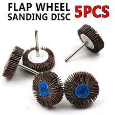5pcs Dremel Accessories Sandpaper Sanding Flap Sanding Disc Set Polishing Wheel