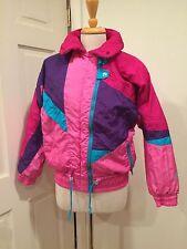 Roffe Skiwear Womens Ski Jacket Snow Pink Raspberry Purple 6 S-M Nice