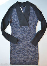 NWT Cut25 by Yigal Azrouel Cotton Textured Knit Sweater Dress Size S
