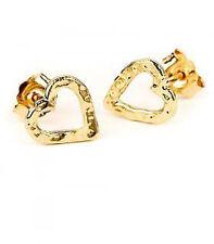 Adina Reyter 14k gold Tiny Heart Post Earrings