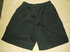 Adult Eyelet Mesh Coaching Coaches Coach Shorts Black XXLarge 2X XXL NWOT