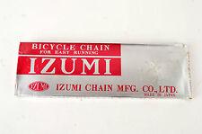 NEW Izumi Easy Running 5-6-7 speed road chain 1/2 x 3/32, 116 links NOS/NIB
