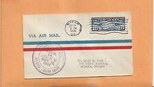 US # C7 FIRST FLIGHT MACON GA TO ATLANTA GA SEP 15,1926  FLORIDA AIRWAYS 10N6