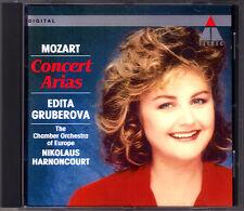 Edita GRUBEROVA MOZART Concert Arias HARNONCOURT CD Mia speranza Misera dove son