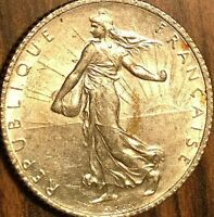 1919 FRANCE 1 FRANC SEMEUSE COIN