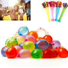 3 Packs 111pcs Magic Water Balloons Bombs Toys Kids Garden Party Summer Amazings