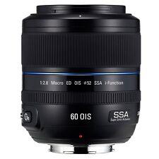 Samsung 60mm f2.8 Macro ED SSA OIS Lens Black For NX